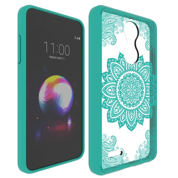 LG Mint Green Phone Case and Screen Protector NWT
